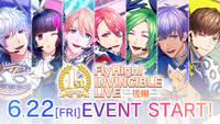 Fly High! INVINCIBLE LIVE (Part 2) Banner