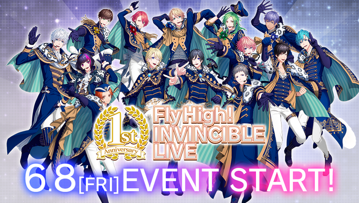 Fly High! INVINCIBLE LIVE (Part 1) Banner