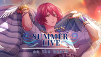 SUMMER LIVE on the beach Banner
