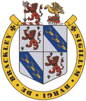 BrackleyCoatOfArms