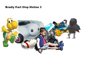 Bradly Kart Stop Motion 3 Box Cover Artwork