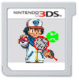 Poketennis 3DS Game Card