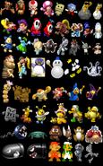 BKSM6 Unlockable Characters