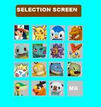 Poketennis 3DS Beginning Selection Screen