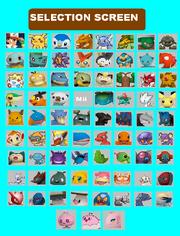 Poketennis 3DS Full Selection Screen