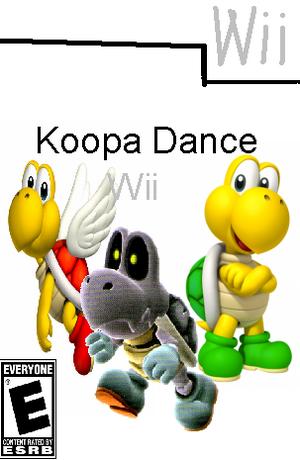 Koopa Dance Wii Box