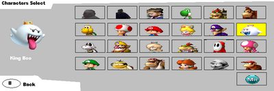 BKSM Characters Select Screen 2