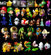 BKSM6 Playable Characters