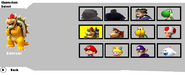 BKSM Starter Characters Select Screen