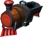 Barrel Train Artwork - Mario Kart 7