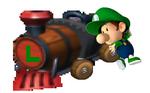 Baby Luigi Artwork