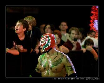 Rey Mysterio WWE Monday Night Raw 800th Tampa