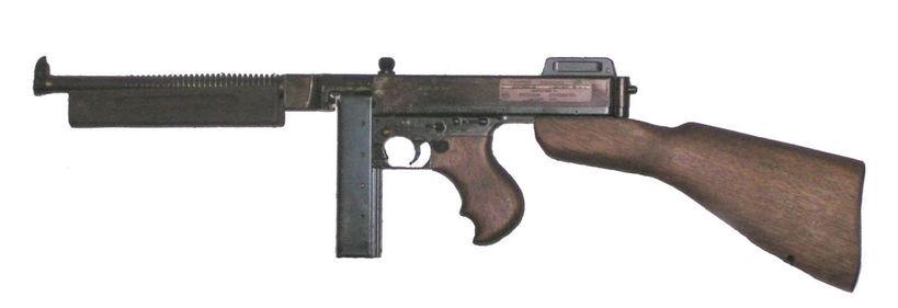 Submachine gun M1928 Thompson