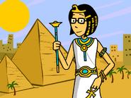 Rita as Cleopatra