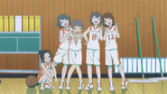 Michiru's Basketball Team