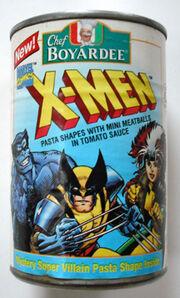 Chef Boyardee X-Men pasta 1994