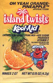 Kool-Aid Island Twists (Orange Pineapple)