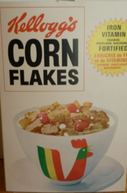 Kellogg's Corn Flakes 1970