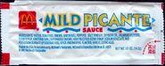 McDonald's Mild Picante sauce packet 1991