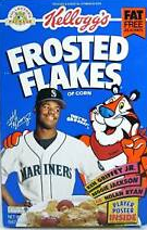 Kellogg's Frosted Flakes 1992 Cereal Package Logo