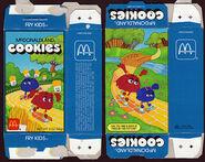 McDonald's McDonaldland Cookies box (Fry Kids) 1987
