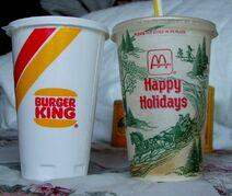 Burger King Soda Early's 90