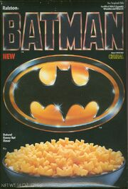 Batman cereal