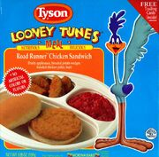 Tyson Looney Tunes Road Runner Chicken Sandwich
