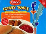 Tyson Looney Tunes Meals - Road Runner Chicken Sandwich