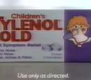 Children's Tylenol Cold (chewables)