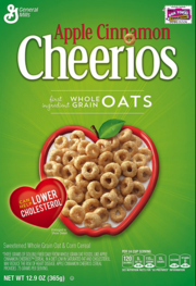 Apple Cinnamon Cheerios 2003
