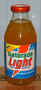 Gatorade Light Citrus Cooler bottle 1990