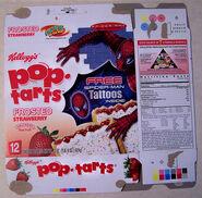 Pop-Tarts box 2002 (Spider-Man tattos)