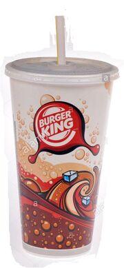 Burger King Soda Cup Early