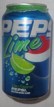 Pepsi Lime Product