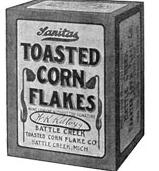 Kellogg's Cereal Corn Flakes 1906