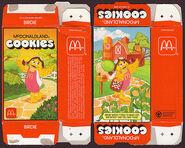 McDonald's McDonaldland Cookies box (Birdie) 1987