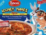 Tyson Looney Tunes Meals - Bugs Bunny & Tasmanian Devil Pasta