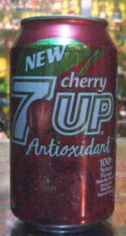 7up Cherry 2000 Can