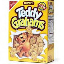 Teddy Grahams (honey) box 2000s