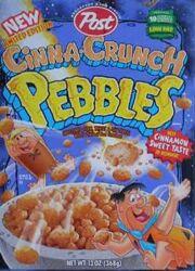 Cinna-Crunch Pebbles cereal