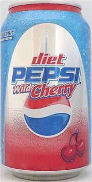 Diet Pepsi Wild Cherry 2007