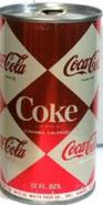 Coca-Cola 1965 Soda Can