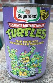 Teenage Mutant Ninja Turtles canned pasta