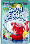 Kool-Aid Ice Cool Artic Green Apple flavor packet 2000's