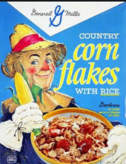 Country Corn Flakes 1969 Package