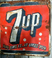7up Old Sign