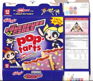 Pop-Tarts PowerPuff Girls PowBerry box 2001