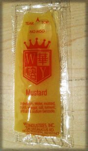 WY Industries Mustard packet