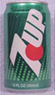 7up 1990 Soda Can